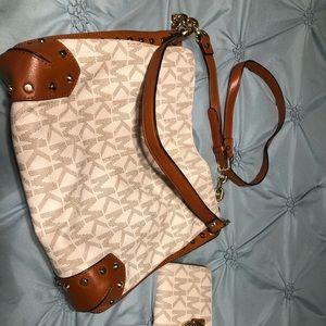 Michael Kors studded purse